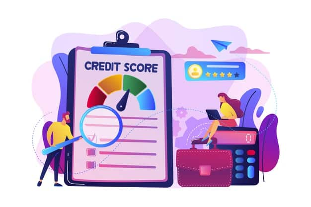 tiny people analysts evaluating ability prospective debtor pay debt credit rating credit risk control credit rating agency concept 335657 870 (1)