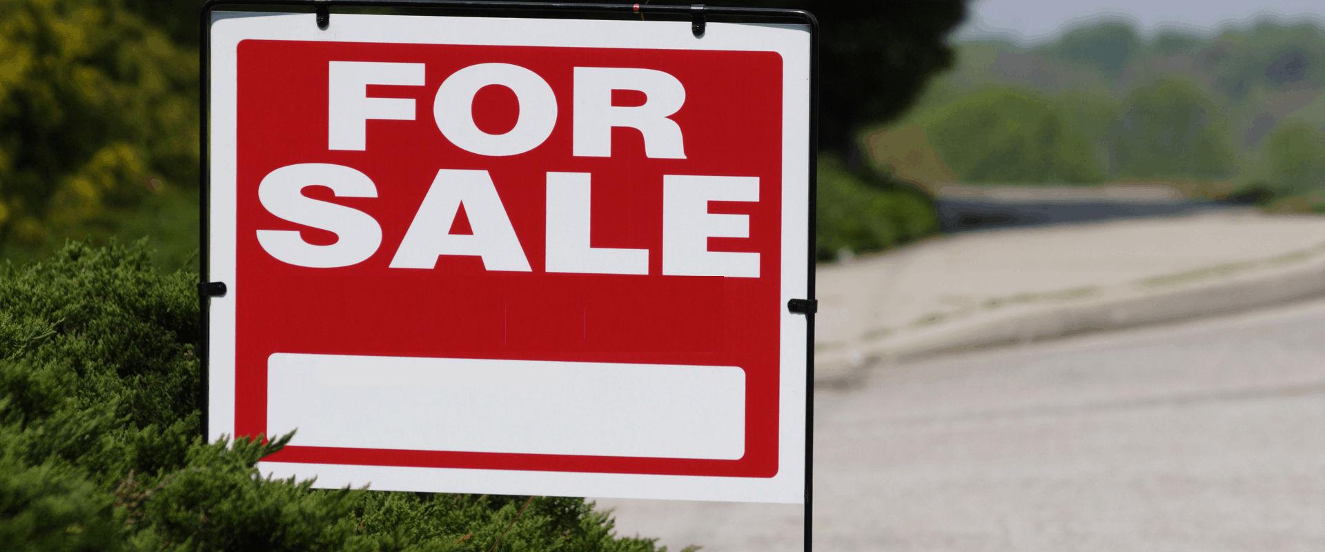 Home for Sale board
